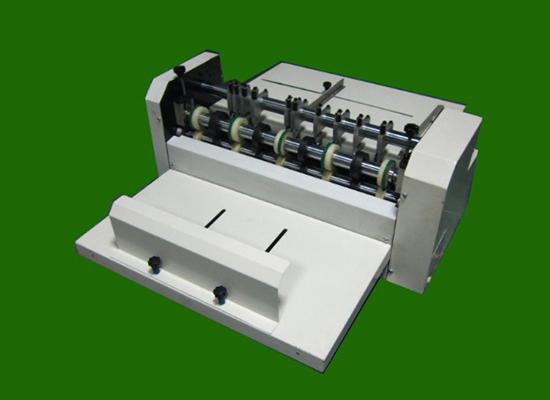 手动压线机双排刀划线压痕